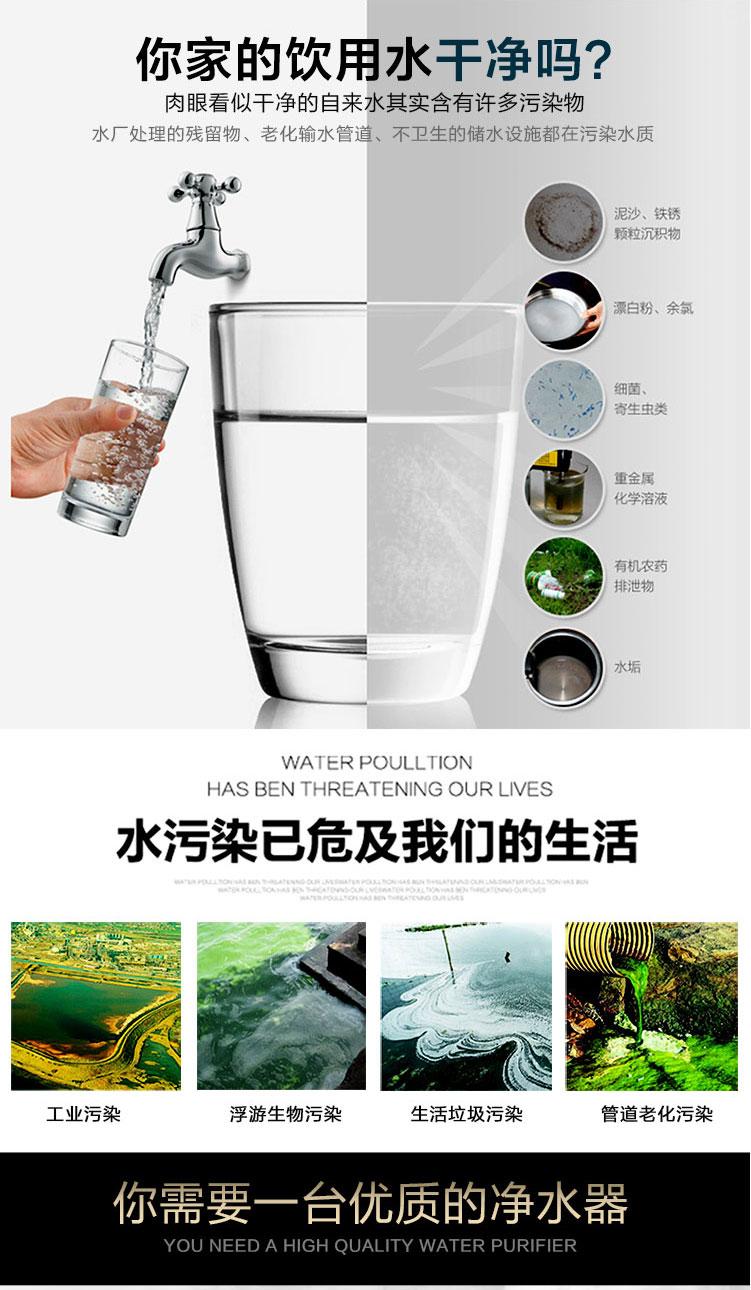 全屋净水系统知名品牌菲浦斯为你报道水污染图